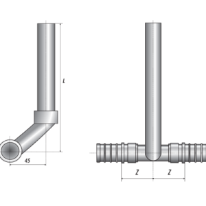 Трубки приборные Т-образные БИР ПЕКС