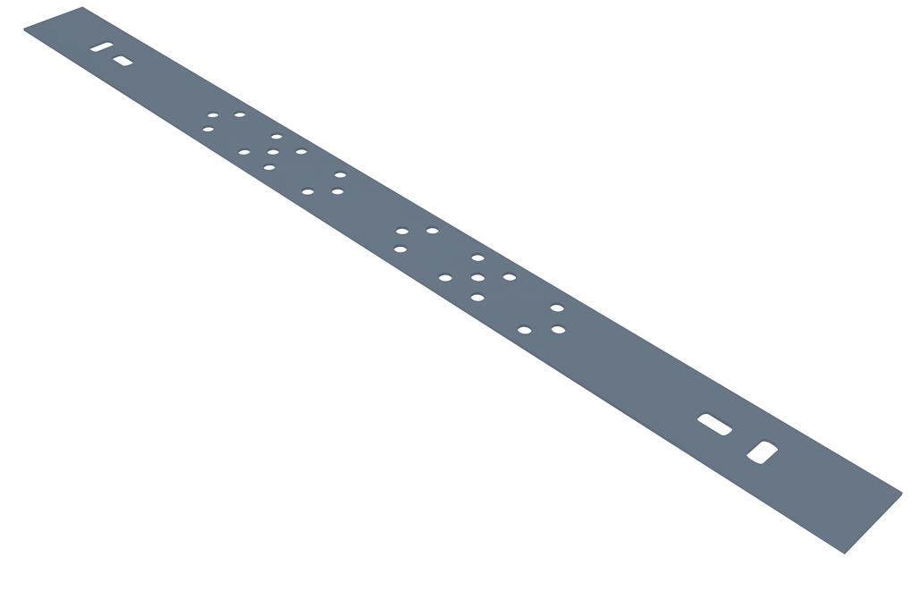 Планка монтажная двойная, L=70, 150 мм