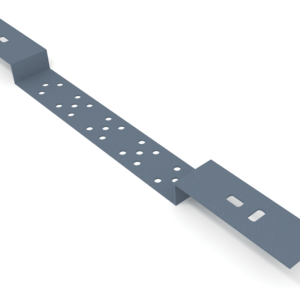 Планка монтажная двойная П-образная для скрытого монтажа, L=70, 150 мм