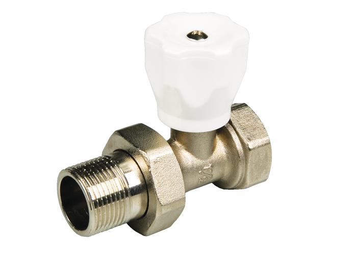 Вентиль терморегулирующий прямой радиаторный 1/2″ MF