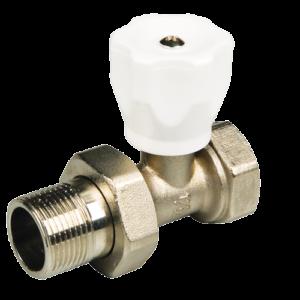 Вентиль терморегулирующий прямой радиаторный 3/4″ MF