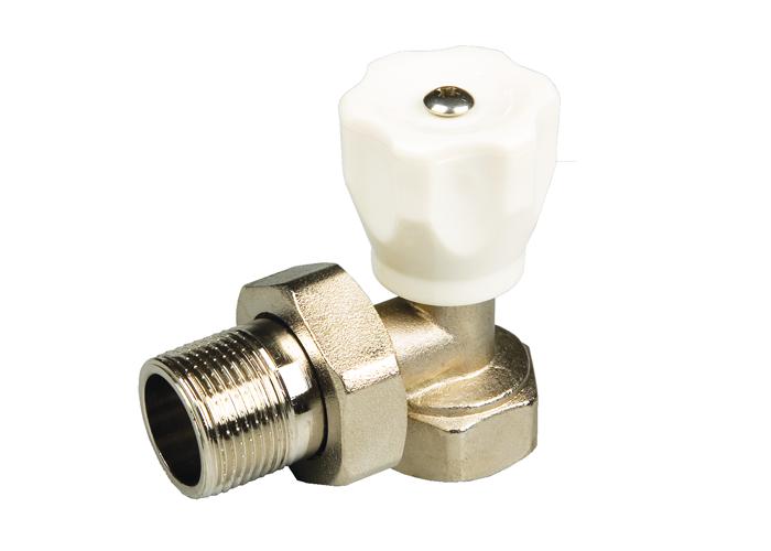 Вентиль терморегулирующий угловой радиаторный 1/2″ MF