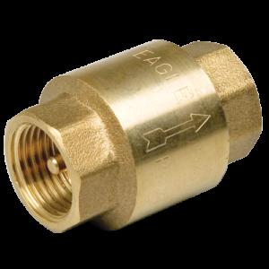 Клапан обратный пружинный с металлическим седлом 1 1/2″ FF