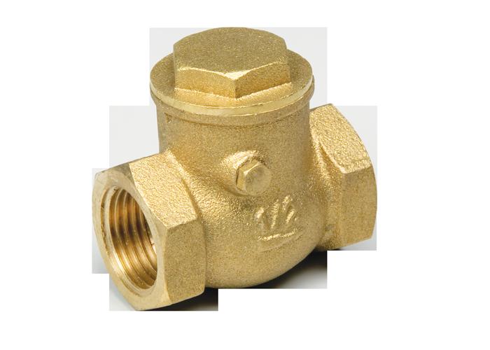 Клапан обратный горизонтальный с проверочным отверстием 2″ FF
