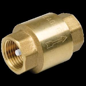 Клапан обратный пружинный с пластиковым седлом 2″  FF