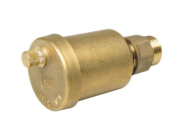 Клапан воздушный автоматический 3/8″, с отсекающим клапаном