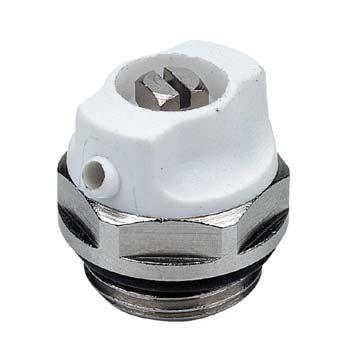 Клапан воздушный 3/4″ хромированный с уплотнительным кольцом Термал