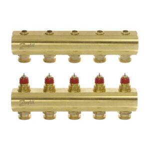 Коллекторы FHF-5 для 5 контуров