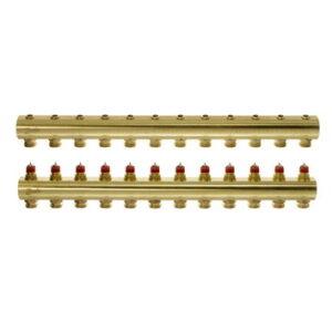 Коллекторы FHF-12 для 12 контуров