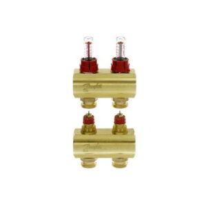 Коллекторы FHF-2F с расходомерами для 2 контуров
