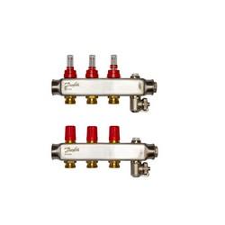 Коллекторы SSM-3F с расходомерами, 3 контура