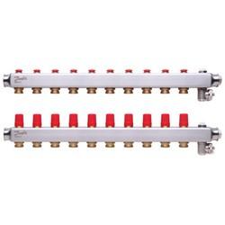Коллекторы SSM-10 для 10 контуров