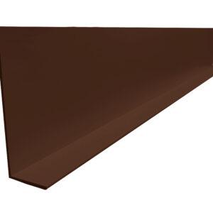 Монтажный уголок коричневый