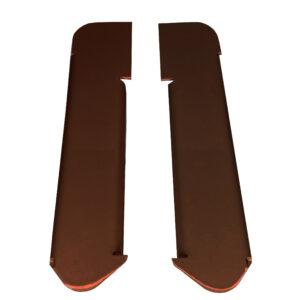 Наконечник (комплект 2 шт.) лп. Charley коричневый