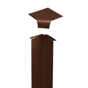 Внутренний угол Charley коричневый
